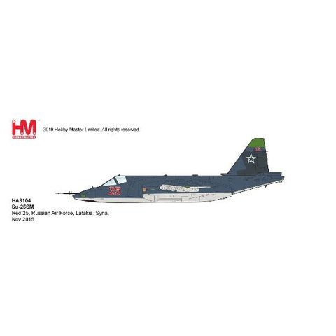 Su25SM Frogfoot RED25 Russian AF Syria 2015 1:72