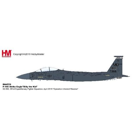 F15E Strike Eagle 391st Expeditionary FS Billy 1:72