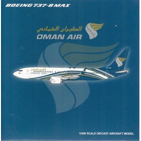 JC Wings B737 MAX8 Oman Air A40-MA 1:400 ++SALE++