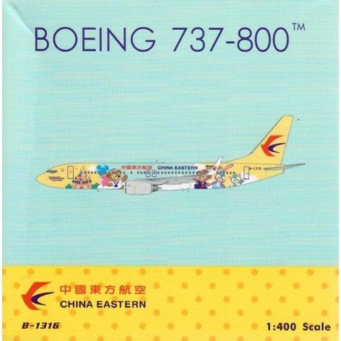 B737-800W China Eastern Shanghai B-1316 1:400
