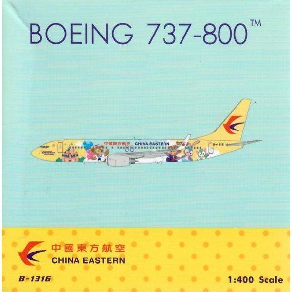 Phoenix B737-800W China Eastern Shanghai B-1316 1:400