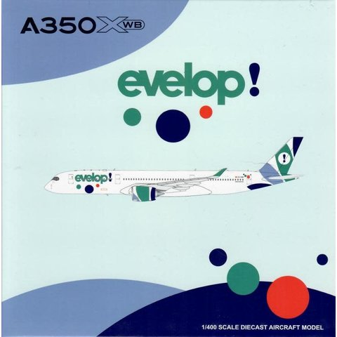 A350-900 XWB Evelop Air EC-NBO 1:400 Flaps down
