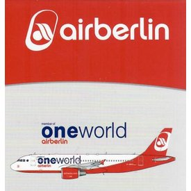 JC Wings A320 Air Berlin One World D-ABHO 1:400
