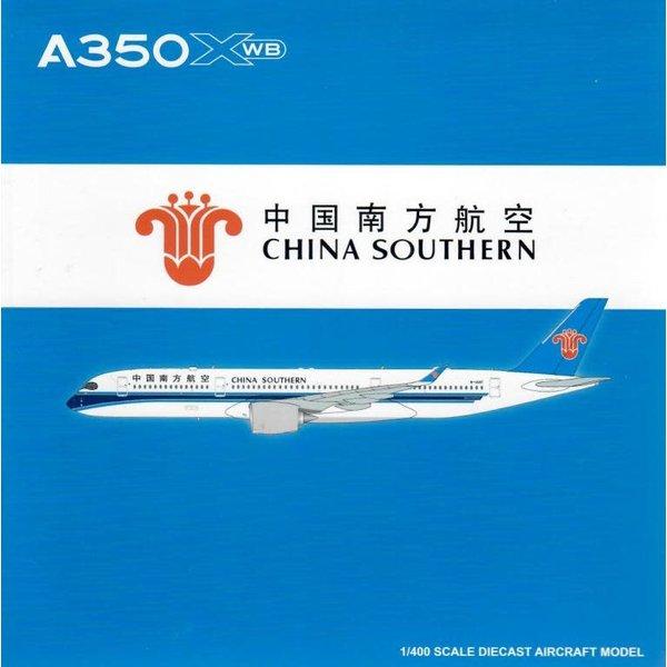 JC Wings A350-900 XWB China Southern B-308T 1:400 flaps