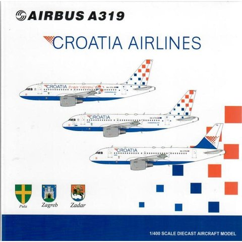A319 Croatia Airlines 25 Years Godina 9A-CTH 1:400