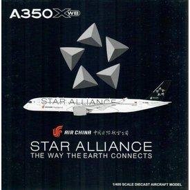 JC Wings A350-900 Air China Star Alliance B-308M 1:400 flaps