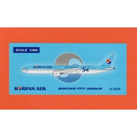 JC Wings B777-300ER Korean Air 50 Years HL8008 1:400