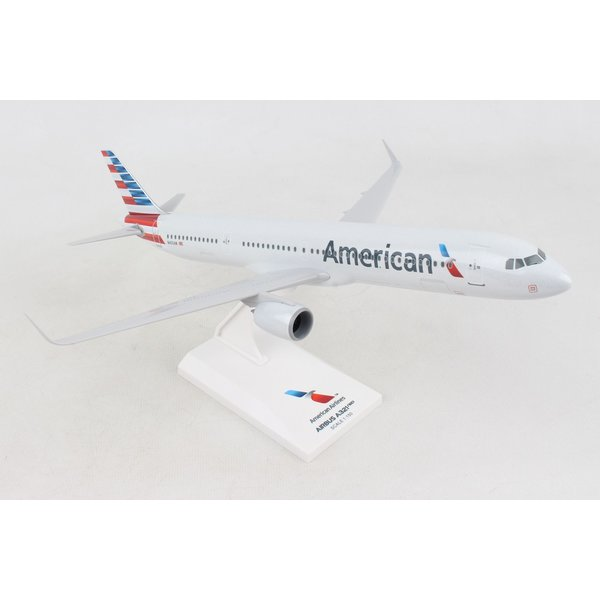 SkyMarks A321neo American Airlines 1:150 with stand