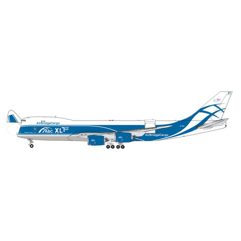 B747-8F Air Bridge Cargo VP-BBY 1:400 (Interactive Series)