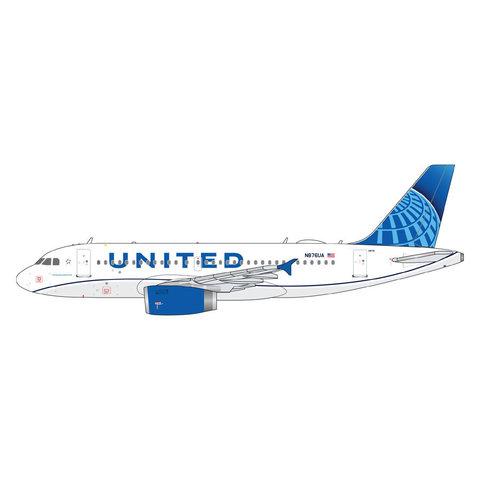 A319 United new livery 2019 N876UA 1:400++PREORDER++