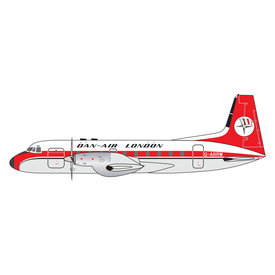 Gemini Jets HS748 Dan Air London G-ARRW 1:400