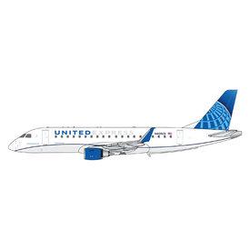 Gemini Jets ERJ175 United Express ExpressJet new livery N605UX 1:400