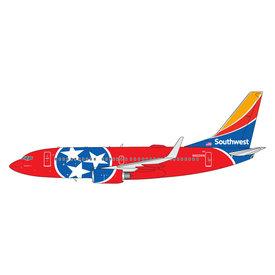 Gemini Jets B737-700W Southwest Tennessee One N922WN 1:400
