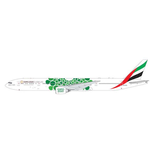 Gemini Jets B777-300ER Emirates EXPO 2020 Green A6-EPU 1:400