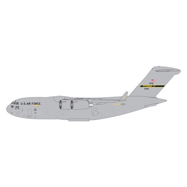 Gemini Jets C17A Globemaster III USAF Pittsburgh ARS 1:400