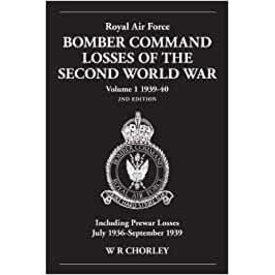 RAF Bomber Command Losses: Vol.1: 1939 SC+NSI+