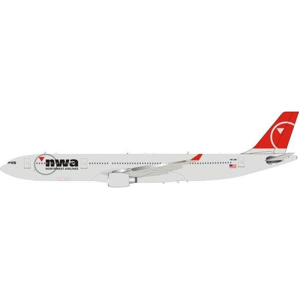 InFlight A330-300 Northwest NWA 2003 c/s N811NW 1:200++NSI++