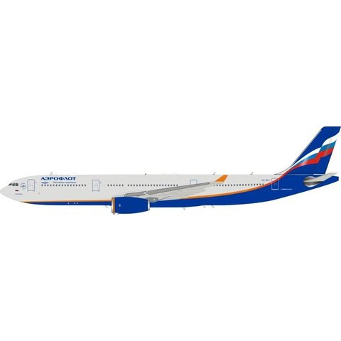 A330-300 Aeroflot 2003 livery VQ-BPJ 1:200 stand++NSI++
