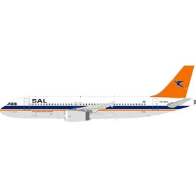 InFlight A320 South African Airways old livery ZS-SHA 1:200