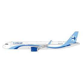 Gemini Jets A321neo Interjet XA-MAP 1:200 with stand
