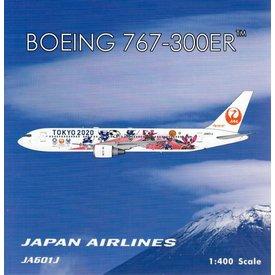 Phoenix B767-300ER JAL Japan A/L Tokyo 2020 JA601J 1:400