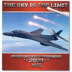 Willow Creek Press Sky is the Limit 18 month calendar 2021 (modern jets) Jim Haseltine