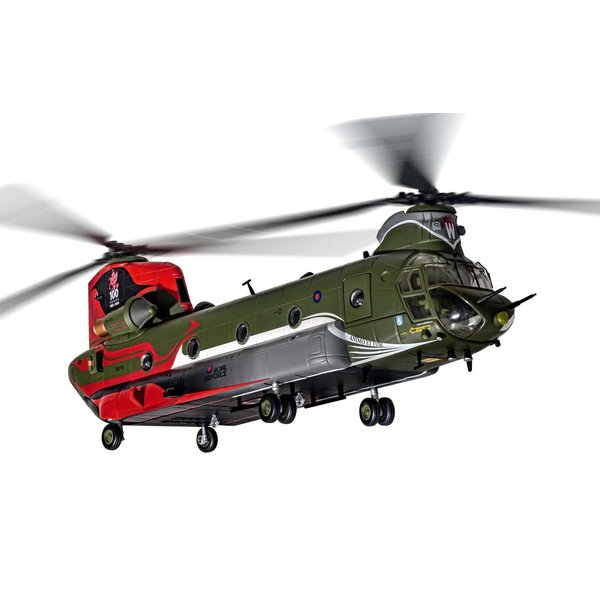 Corgi Chinook HC4 No.18(B) Squadron RAF 100 Years 1:72