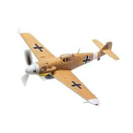 Corgi Messerschmitt Bf109G2 3./JG27 Marseille YELLOW14 1:72