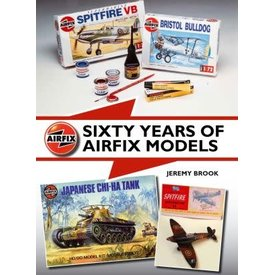 Crowood Aviation Books Sixty Years of Airfix Models hardcover