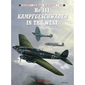 Osprey Publications HE111 Kampgeschwader in the West: OCA#91 SC ++SALE++