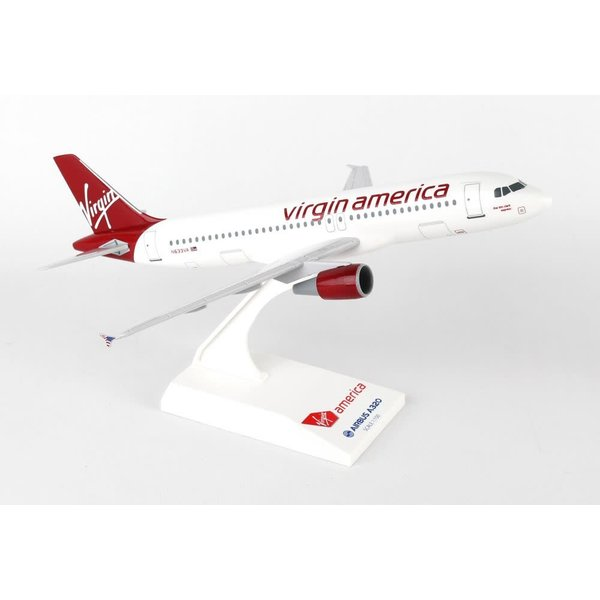 SkyMarks A320 Virgin America 1:150 with stand