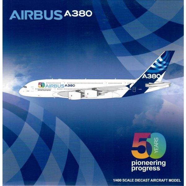 JC Wings A380-800 Airbus 50 Years Pioneer F-WWOW 1:400