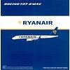 B737 MAX8 Ryanair EI-HAT 1:400 with antennae
