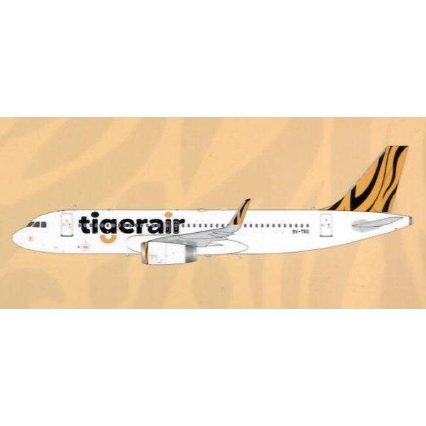JC Wings A320S Tigerair 9V-TRX Sharklets 1:200