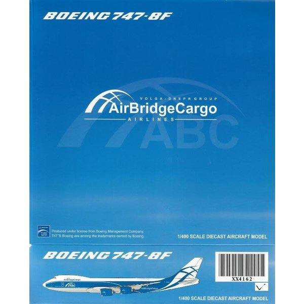 JC Wings B747-8F Air Bridge Cargo VQ-BGZ 1:400