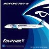 B787-9 Dreamliner Egypt Air SU-GER 1:400 flaps