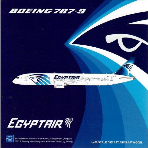 JC Wings B787-9 Dreamliner Egypt Air SU-GER 1:400 flaps