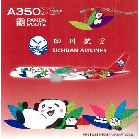 A350-900 Sichuan Panda Route B-306N 1:400