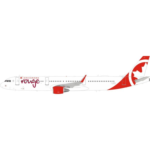 InFlight A321S Air Canada Rouge C-GHQI sharklets 1:200