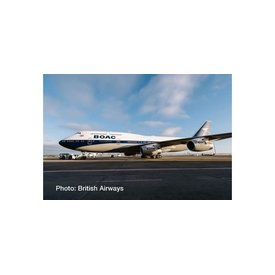 Herpa B747-400 British Airways BOAC Retro BA100 1:500