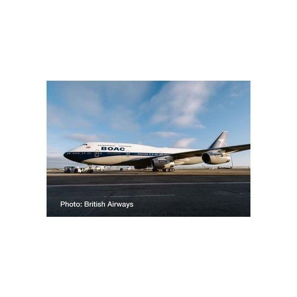 Herpa B747-400 British Airways BOAC Retro BA100 1:500