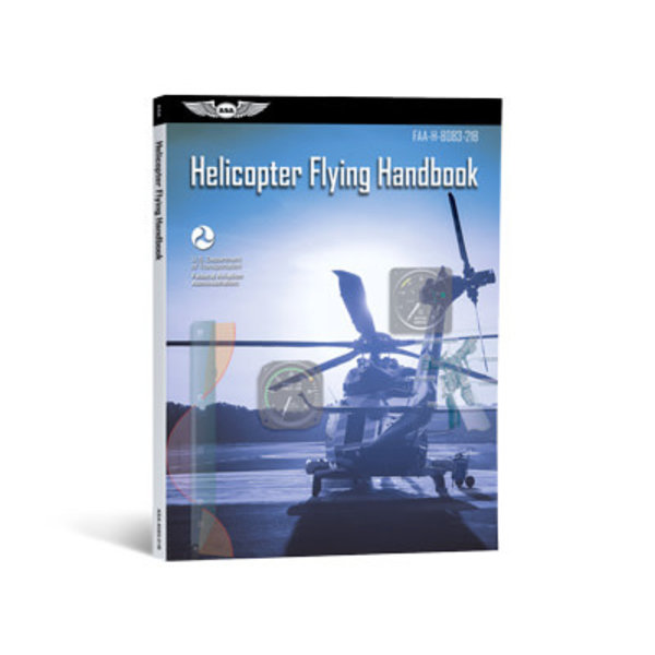 ASA - Aviation Supplies & Academics Helicopter Flying Handbook FAA softcover