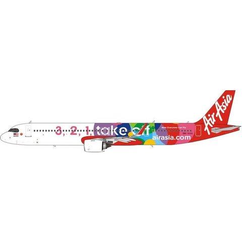 A321neo Air Asia  3,2,1 Take Off 9M-VAA 1:400