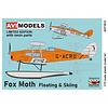 DH83 Fox Moth RCAF Station Gander floats & skis 1:72