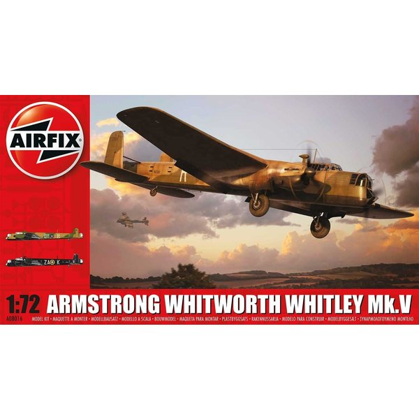 Airfix Whitley MkV Armstrong Whitworth 1:72