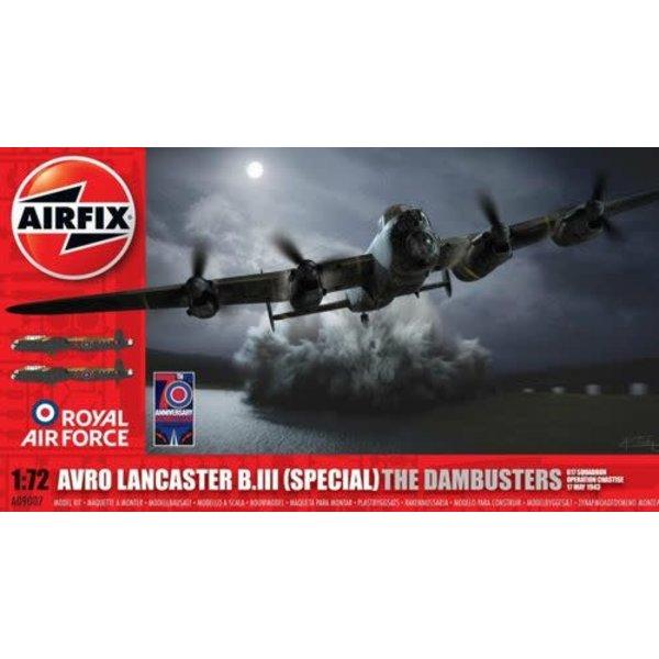 Airfix Lancaster BIII [ Special ] Dambuster 1:72 New Tool 2012