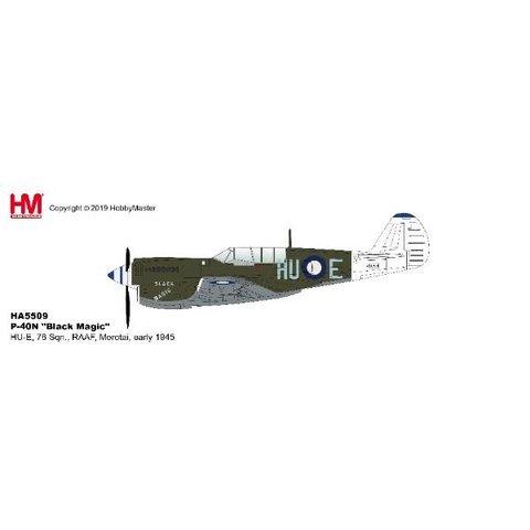 P40N Kittyhawk 78 Sqn.RAAF HU-E Black Magic 1:72