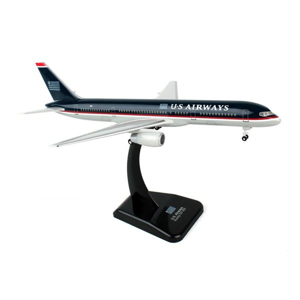 Hogan B757-200 US Airways Darth black livery 1:200 +NSI+