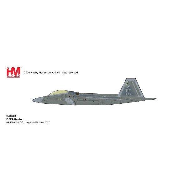 Hobby Master F22A Raptor 1st OG Langley AFB FF June 2017 1:72