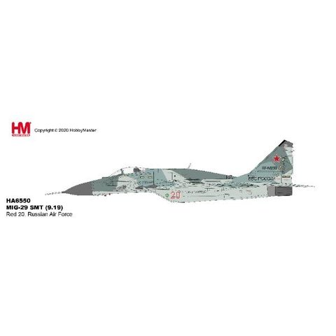MIG29 SMT Fulcrum Russian Air Force RED20 1:72